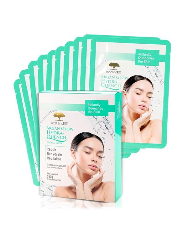 Argan Glow Hydra Quench Facial Mask (Box)