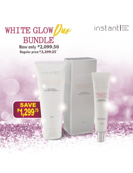 WHITE GLOW DUO (Face and Body)